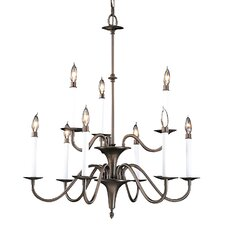 <strong>Framburg</strong> Early American 9 Light Dining Chandelier