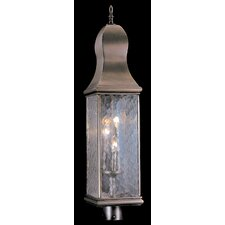 Marquis 3 Light Outdoor Post Lantern
