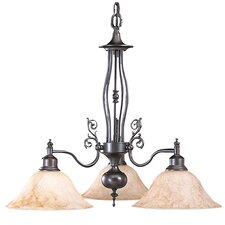 Provence 3 Light Dinette Chandelier