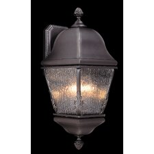 Coeur de Lion 3 Light Wall Lantern