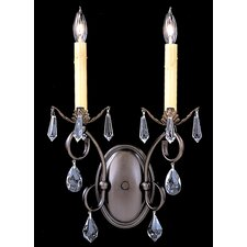 Liebestraum 2 Light Wall Sconce