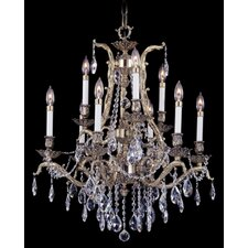 <strong>Framburg</strong> Vienna 9 Light Dining Chandelier
