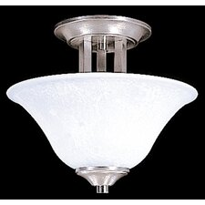 <strong>Framburg</strong> Bellevue 2 Light Semi Flush Mount