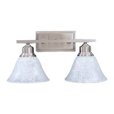 Bellevue 2 Light Vanity Light
