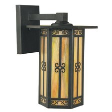 <strong>Arroyo Craftsman</strong> Lily Outdoor 1 Light Wall Lantern