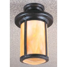 <strong>Arroyo Craftsman</strong> Berkeley 1 Light Semi Flush Mount