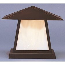 "Carmel 1 Light 12"" Outdoor Post Lantern"