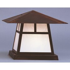 "Carmel 1 Light 15"" Outdoor Post Lantern"