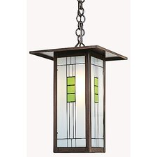 <strong>Arroyo Craftsman</strong> Franklin Long Body 1 Light Outdoor Hanging Lantern