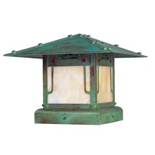 Pagoda 1 Light Post Lantern