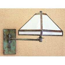 <strong>Arroyo Craftsman</strong> Pasadena Swing Arm Wall Lamp