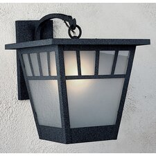 Savannah 1 Light Outdoor Wall Lantern