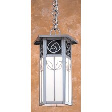 Saint Clair 1 Light Outdoor Hanging Lantern