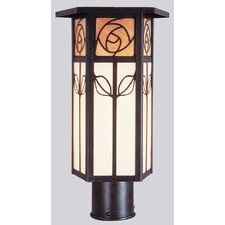 <strong>Arroyo Craftsman</strong> Saint Clair 1 Light Outdoor Post Lantern