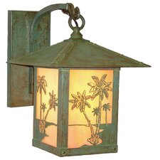 Timber Ridge 1 Light Outdoor Wall Lantern