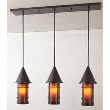 <strong>Arroyo Craftsman</strong> Valencia 3 Light Kitchen Island Pendant