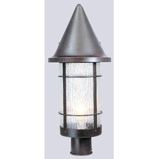 Valencia 1 Light Outdoor Post Lantern