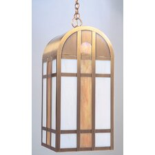<strong>Arroyo Craftsman</strong> Yorktown 1 Light Outdoor Hanging Lantern