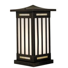 Himeji 1 Light Outdoor Post Lantern