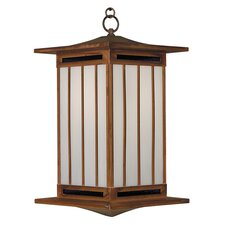 <strong>Arroyo Craftsman</strong> Himeji 1 Light Outdoor Hanging Lantern