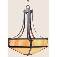 <strong>Arroyo Craftsman</strong> Saint George 4 Light Inverted Pendant