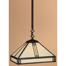 <strong>Arroyo Craftsman</strong> Prairie 1 Light Foyer Pendant