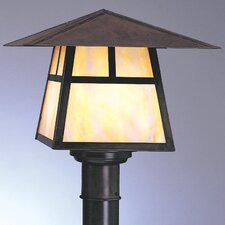 <strong>Arroyo Craftsman</strong> Carmel 1 Light Outdoor Post Lantern