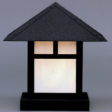 Evergreen 1 Light Post Lantern