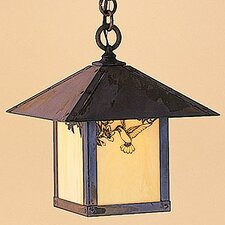 Evergreen 1 Light Outdoor Hanging Lantern