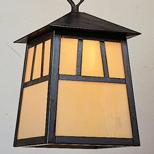 <strong>Arroyo Craftsman</strong> Raymond 1 Light Outdoor Hanging Lantern