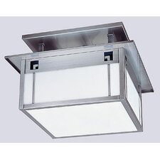 State Street 2 Light Semi Flush Mount