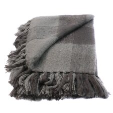 Annette Faux Mohair Throw