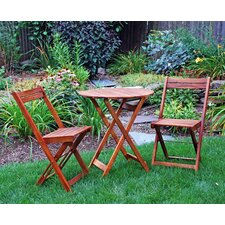 <strong>Atlantic Outdoor</strong> 3 Piece Bistro Set