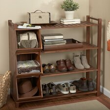 <strong>Atlantic Outdoor</strong> Outdoor Shoe Rack and Cubby