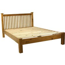 Pine Low Foot End Bed Frame