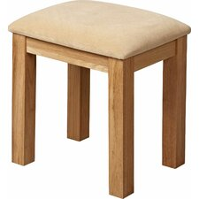 Pitkin Oak Dressing Table Stool