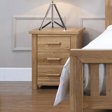 Wiltshire Sasso 3 Drawer Bedside Table
