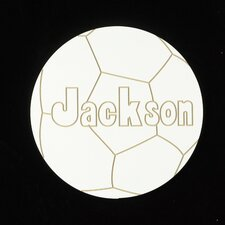 Personalized Soccer Ball Wall Plaque