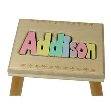 Personalized Name Stool With 8 Letters