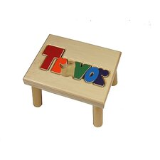 Personalized Name Stool With 12 Letters
