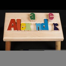 <strong>Hollow Woodworks</strong> Personalized Name Stool With 12 Letters
