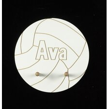 Personalized Volleyball Wall Plaque