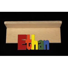"Personalized Double Name 9"" Bookshelf"
