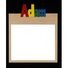 Personalized Double Name Memo Board With 10 Letters