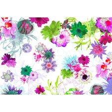 Fototapete Fleurs de Paris - 254 x 368 cm