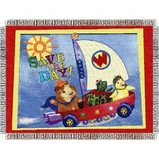 <strong>Northwest Co.</strong> Entertainment Tapestry Throw Blanket - Wonder Pets - Save The Day
