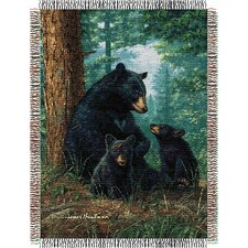 Entertainment Tapestry Throw Blanket - Hautman Brothers Naptime