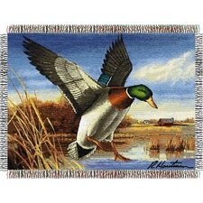 Entertainment Tapestry Throw Blanket - Hautman Brothers Easy Landing