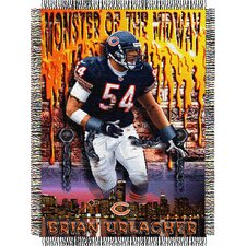 NFL Player Throw Blanket