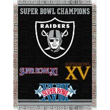 <strong>Northwest Co.</strong> NFL Commemorative Tapestry Throw